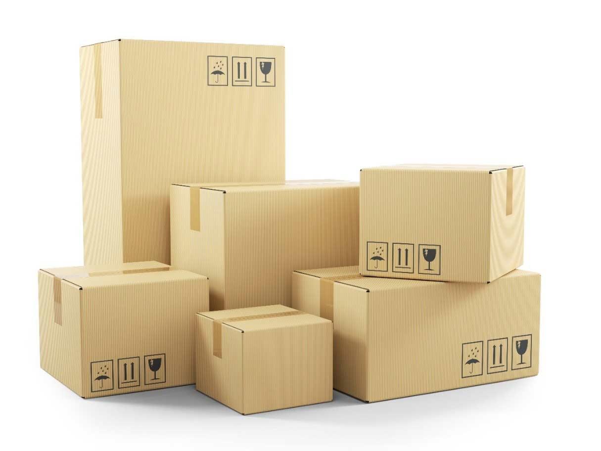 Warnhinweise auf Paketen