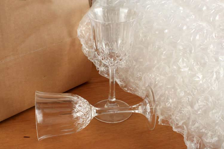 Gläser verpacken