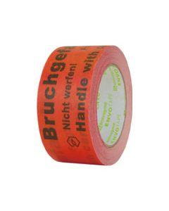 Papier Warnband Bruchgefahr