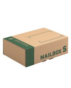 Mailbox Karton S braun