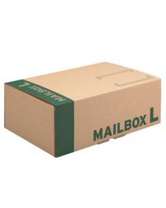 Mailbox Karton L braun