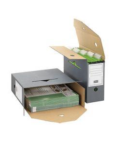 Archivbox für Hängemappen anthrazit