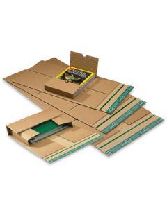 Universal-Wickelverpackung mit zentraler Packgutaufnahme