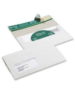 CD Verpackung mit SK-Verschluss weiß