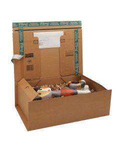 "Postbox ""Secure"" braun  600 x 420 x 110 mm, DIN A4+"