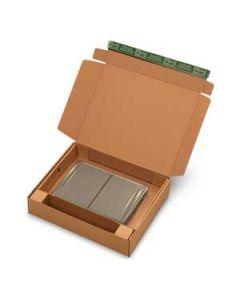 Versandkarton Notebook braun