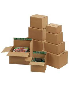 Versandverpackung Flixbox mit Automatikboden