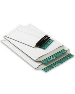 Versandtasche weiß aus stabiler Vollpappe