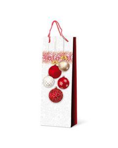 """1er Lackpapier-Tragetasche """"Weihnachtsfest"""""""