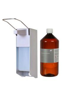 Wand - Desinfektionsmittelspender Set