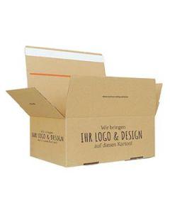 Bedruckter Automatikkarton, 4-seitig bedruckt 345 x 256 x 130 mm