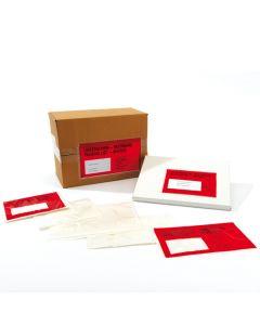 Selbstklebende Begleitpapiertaschen C6 ohne Druck