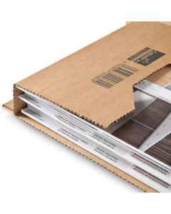 Universal-Versandverpackung B4 - 380 x 290 x -80 mm