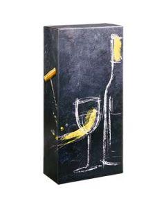 Faltschachtel für Weinflaschen DIVINO 2er