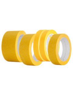 Goldene Kreppbänder in verschiedenen Ausführungen