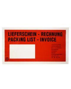 Begleitpapiertaschen C6 Lfs/Rg