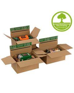 "Flixbox Karton braun ""GRASS-LINE"" aus Graspapier"