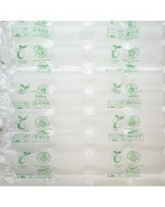 Bio-Folie, home-kompostierbar, milchig, 4 Kammern, 450 lfm