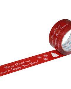 Qualitätspackband mit weihnachtlichem Aufdruck