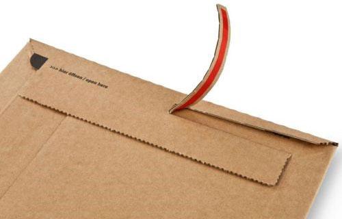 Aufreißfaden Buchverpackung