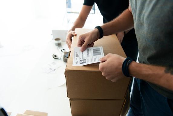 Paket richtig beschriften