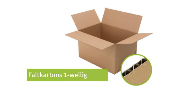 Faltkarton 1-wellig