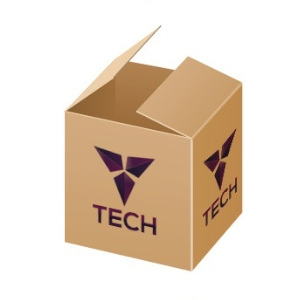 Karton bedrucken mit individuellem Logo als Beispiel