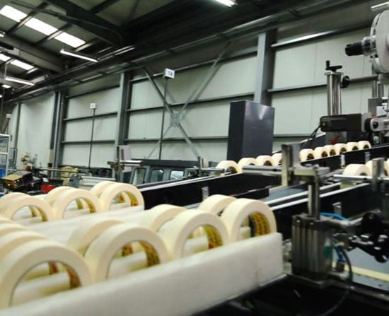 Packbandproduktion