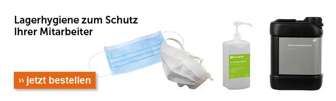Hygiene für Lager und Betrieb