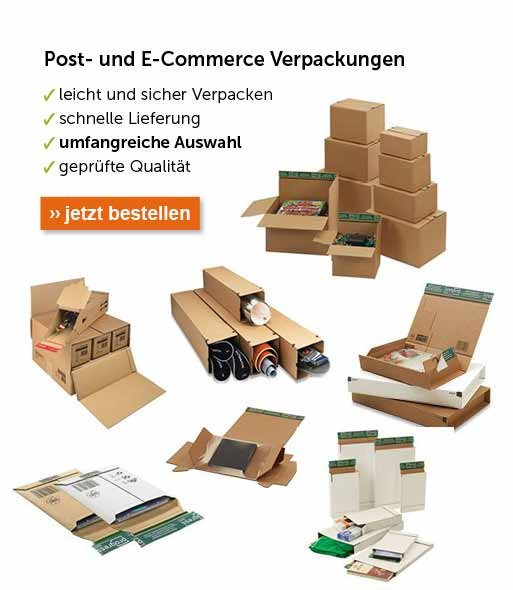 Post und E-Commerce Verpackungen