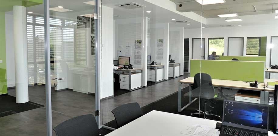 Anbau Büros