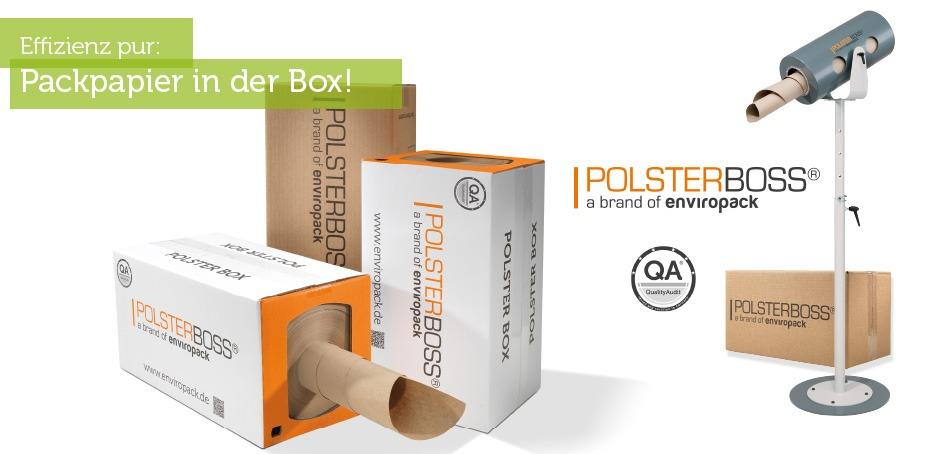 Polsterboss - das Papierpolstersystem